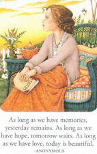 Memories Hope Love Today Beautiful-Handmade Fridge Magnet-w/Mary Engelbreit art