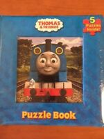THOMAS AND FRIENDS Puzzle Book - Frank Berrios, W. Awdry, NEW & Sealed