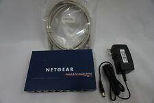 Netgear ProSafe GS108 8 Port Gigabit Switch