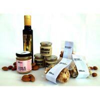 Crema Mandorla pura BIO 100% + Olio extravergine di olive + Spalmabile + Tostate