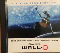 Peter Gabriel/ Thomas Newman  PROMO : Wall-E  Disney Pixar Film Score 2008 CD.
