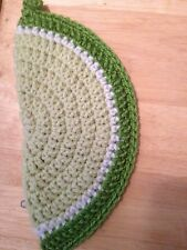 Hot Pad Potholders Hand crochet double thickness