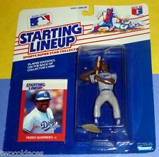 1988 PEDRO GUERRERO Los Angeles Dodgers Rookie - FREE s/h - sole Starting Lineup