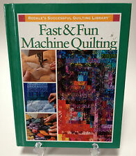 Fast & Fun Machine Quilting Quilt Techniques Guide Basics Problem Solving Easy