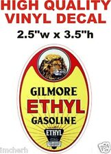 Vintage Style Gilmore Ethyl Gasoline Gas Pump Decal  - The Best Or 100% Refund