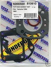 Ensemble Joint supérieur YAMAHA YZ80 YZ 80 1983 K Modèle WINDEROSA