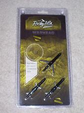 Rocky Mountain Warhead - Expandable 2 Blade - 100 Grain Broadheads 3/Pack