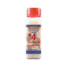 NEW! Hyland's #4 Ferrum Phosphoricum 6X of Schuessler's Salts,500 ct Ferrum Phos
