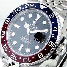 ROLEX GMT MASTER ll 126710 BLRO PEPSI RED BLUE JUBILEE STEEL 126710BLRO 126710