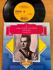 """Neil Sedaka / Happy Birthday Sweet 16 // 7"""" - UK-Pressing 1986 (Old Gold) - TOP"""