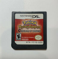 Pokemon Mystery Dungeon Explorers of Darkness Nintendo DS Cartridge Only