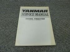 Yanmar Diesel Tractor Electrical Equipment Shop Service Repair Manual