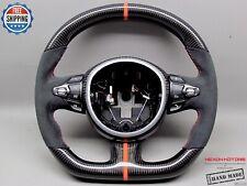 Aston Martin DB11 DBX DBS Vantage Orange Ring Alcantara Carbon Steering Wheel