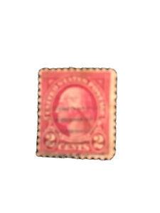 Rare red 2c Washington Stamp