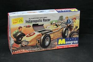 Monogram Special INDIANAPOLIS RACER 1:24 Scale Model Kit Open Box NICE