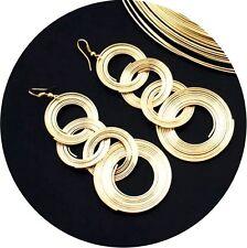 Elegante Ohrringe Vintage Ohrstecker Statement Charme Earrings Stecker L9