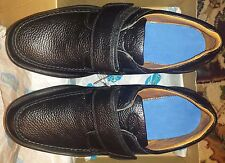 Dr. Comfort Genuine Leather Men's Shoes SCOTT Black Size 15M (EUR 50M) MSRP $149