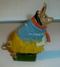 Britains Cococubs Pre-war lead figure of animals with this one Mrs Pie Porker