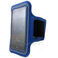 Armband fascia braccio Sport per HTC One E8 custodia BLU funzione touch screen