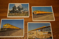 prints of UNION PACIFIC Railroad  COLOR PHOTO LOT OF 4 PRINTS REDUCED PRICE