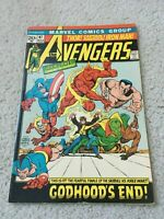 Avengers #97, VF 8.0, 1st Appearance Golden Age Vision, Fin, Patriot, Angel