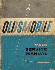 1960 Oldsmobile Original Shop Manual 60 Olds 88 and 98 Repair Service