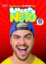LIVRO = LUCCAS NETO As Aventuras Na Netoland BOOK netolandia 2018 c POSTERS NEW!