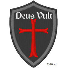 Patch toppa DEUS VULT NAVY SEAL FORZE SPECIALI SPECIAL FORCE AIRSOFT SOFTAIR