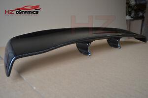 Carbon Fiber VR Type Rear Adjustable Boot Spoiler FITS Nissan R35 GTR UK STOCK