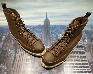 Converse Chuck Taylor Crafted Boot High Top Chocolate Mens Size 13 162354c New