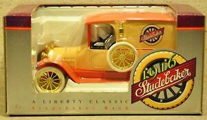 Liberty Classics' 1916 Studebaker Delivery Van Coin Bank - 1:25 - NIB
