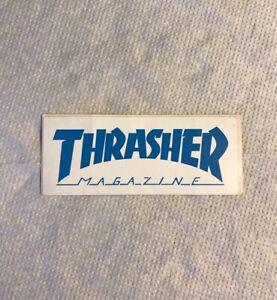 Vintage skateboard sticker Thrasher Magazine Neil Zorlac alva sims NOS Mark Tony