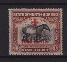 North Borneo SG 235 1918 1c+4c Lightly Mounted Mint