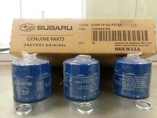 OEM Factory Subaru Engine Oil Filter & Crush Gasket (3 Pack) 15208AA12A KIT12A3