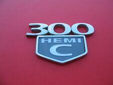 05 06 07 08 09 10 CHRYSLER 300 C HEMI REAR LID EMBLEM LOGO BADGE SIGN USED B1930