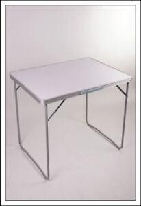Alu Koffertisch klappbar - in 3 Größen - Campingtisch Garten Tisch Klapptisch