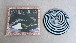 Duran Duran White Lines 1995 UK CD Single CDDD19 VG+/Ex Electro Rock