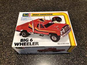 "Revell Big 6 Wheeler dually custom pickup   1:25 kit 1980 issue   ""Used"""