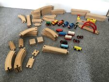 Vintage Brio Thomas The Tank Engine And Compatible Wooden Train Set Bundle 1990s