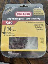 Oregon AdvanceCut Saw Chain, S49, 14 Inches