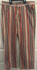 Vintage Hippie Jeans Rare Farah Striped Tommy Hilfiger America Groovy Funky S-11