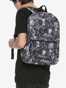 Marvel Black Panther Logo Print School Book Bag Backpack New With Tags!