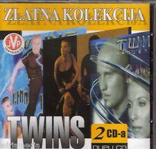 TWINS 2 CD Zlatna kolekcija Best Music Hit Srbija Serbien Kraljica Leptir Malena