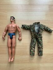 Hasbro Action Man Figure 1994 Male Doll - Camouflage Outfit and Facepaint