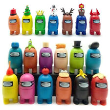 7/12 Pcs Among Us Imposters Action Figures Collection Dolls Game Toys Kids Gifts