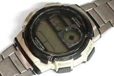 Casio AE-1000W 5 alarms watch for parts/hobby/watchmaker - 140523