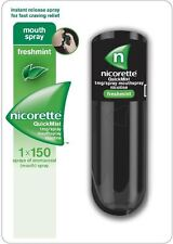 Nicorette Quick Mist Mouth Spray Freshmint 1x150 Spray  - 2 Pack