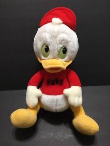 """12"""" HUEY Plush Toy From Duck Tales 1986 Hasbro The Walt Disney Company"""