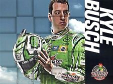 "2017 KYLE BUSCH ""INTERSTATE BATTERIES"" #18 NASCAR MONSTER ENERGY CUP POSTCARD"