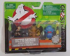 Ghostbusters Ecto Minis Figures, 3 Pack Figures Erin, Rowan Cartoon, Cockroach